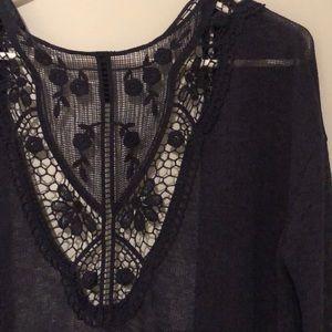3/$30 💙 H&M laced cardigan